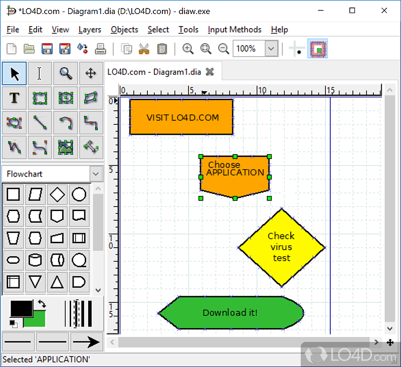 Dia diagram editor download dia diagram editor screenshot 1 ccuart Image collections