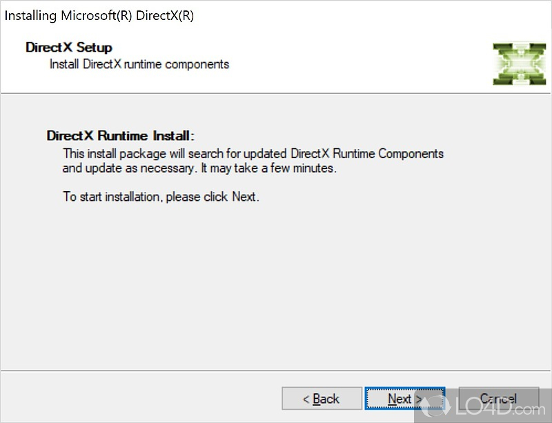 the deprecated components of microsoft directx I installed directx sdk and included the components as: using microsoftdirectx using microsoftdirextxdirect3d when i try to compile, i get the error: the type or namespace name 'directx' does not exist in the namespace 'microsoft'.