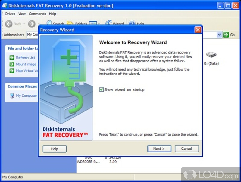 Disk Drive Recovery
