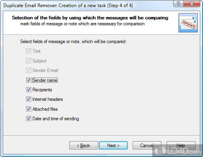 Duplicate Email Remover - 5