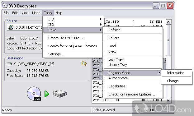 Dvd decrypter 3. 5. 4. 0 download em português.