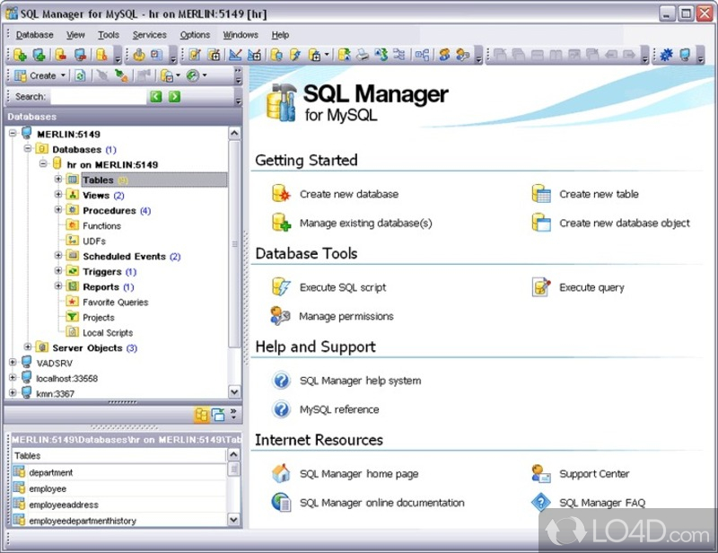 Ems sql manager for mysql 2007EMS SQL Manager 2007 for