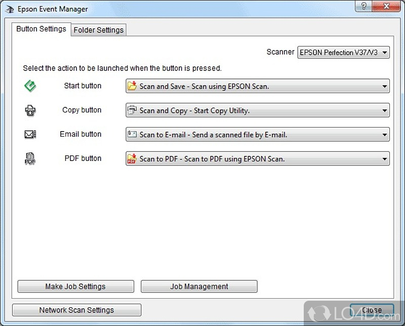 epson event manager download