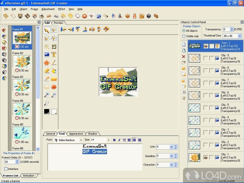 Eximioussoft gif creator download eximioussoft gif creator screenshot 1 negle Images