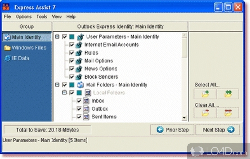 outlook express for windows 7