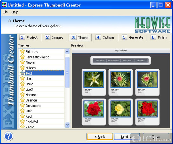 Express Thumbnail Creator - Download