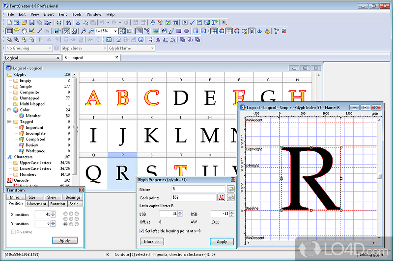 Fontcreator Screenshots