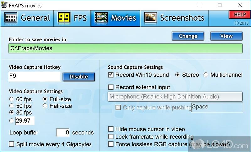 fraps 64 bit free download