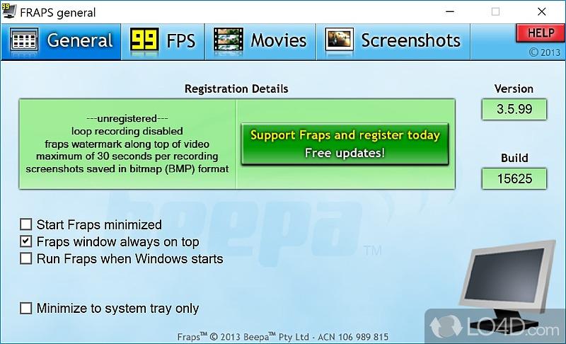 Beepa Fraps 3.3.0 +crack, кряк, крек, серийник, serial, keygen Retail.