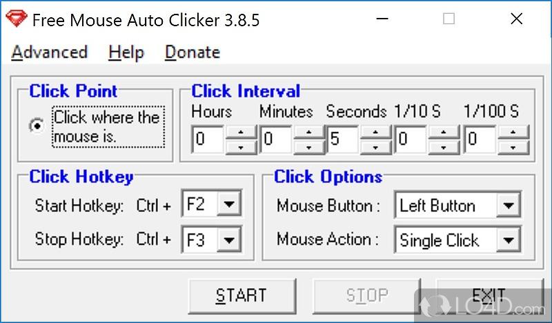 Free Mouse Auto Clicker - 1