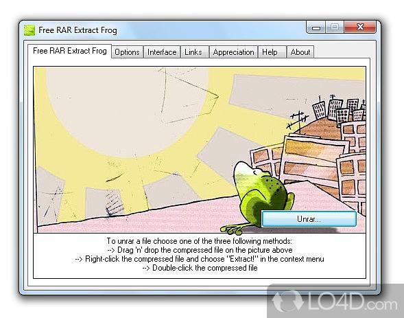 Free RAR Extract Frog - 2