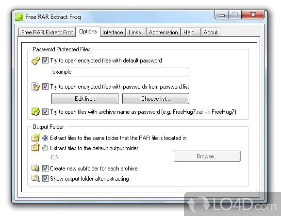 Free RAR Extract Frog - 3