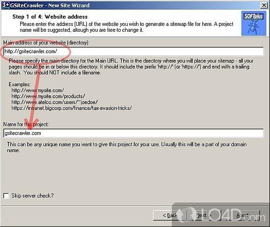 Google Sitemap Tool: GSiteCrawler