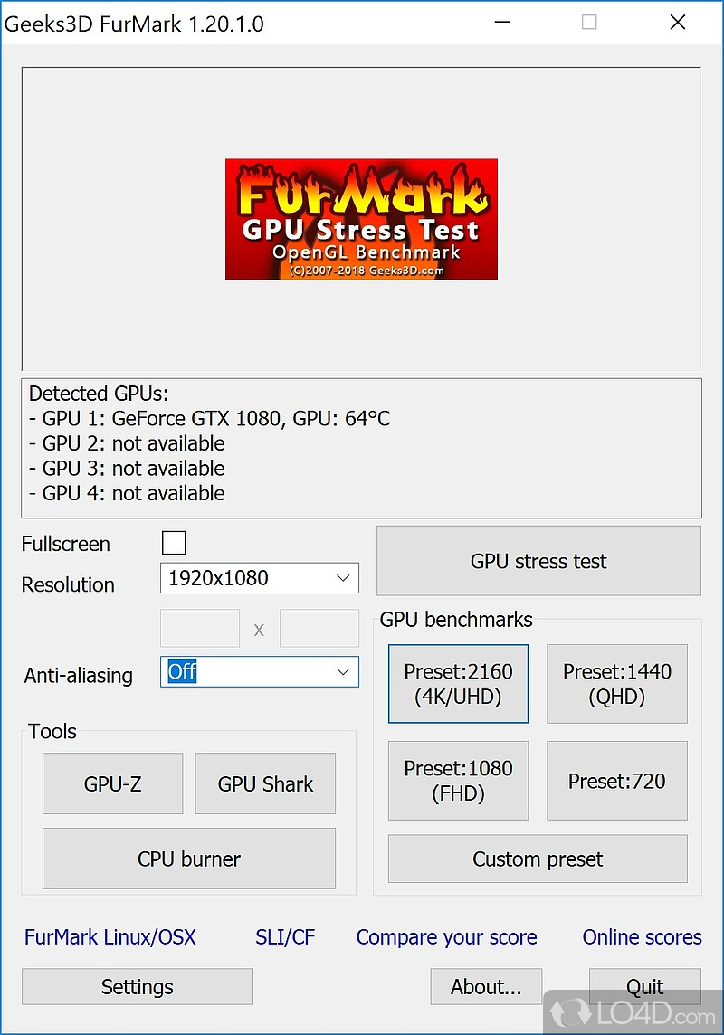 furmark 1.12.0