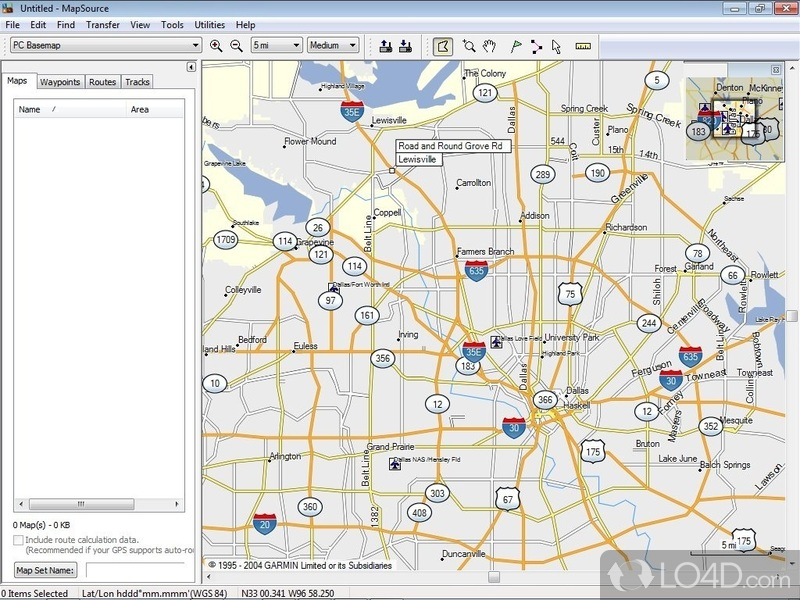 Garmin mapsource download garmin mapsource screenshot 2 gumiabroncs Gallery