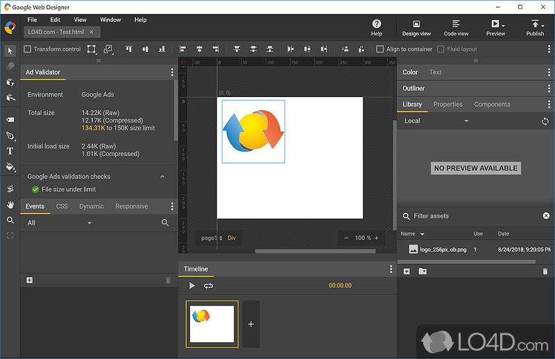 Google Web Designer Download