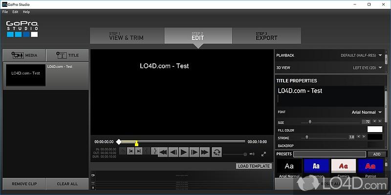 GoPro CineForm Studio - 2