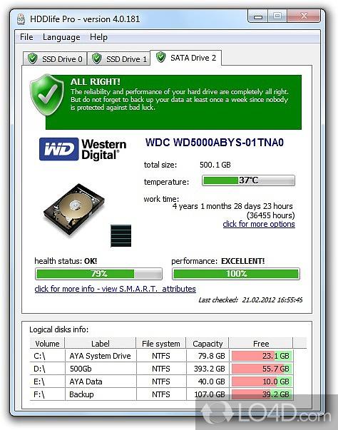 Ключ Hddlife Pro 2.9.109