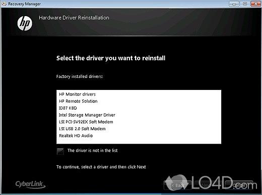Hp recovery manager скачать для windows 7