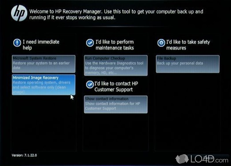 Hp Recovery Manager Download