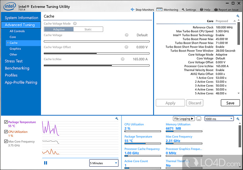 how to use intel tuning utility
