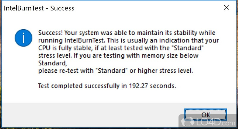 IntelBurnTest - 5