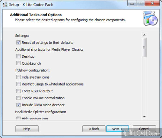 K lite codec pack screenshots - K lite codec pack media player classic download ...