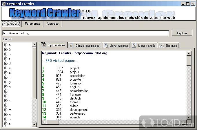 keyword crawler download