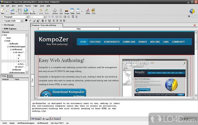 Image Result For Kompozer Downloads