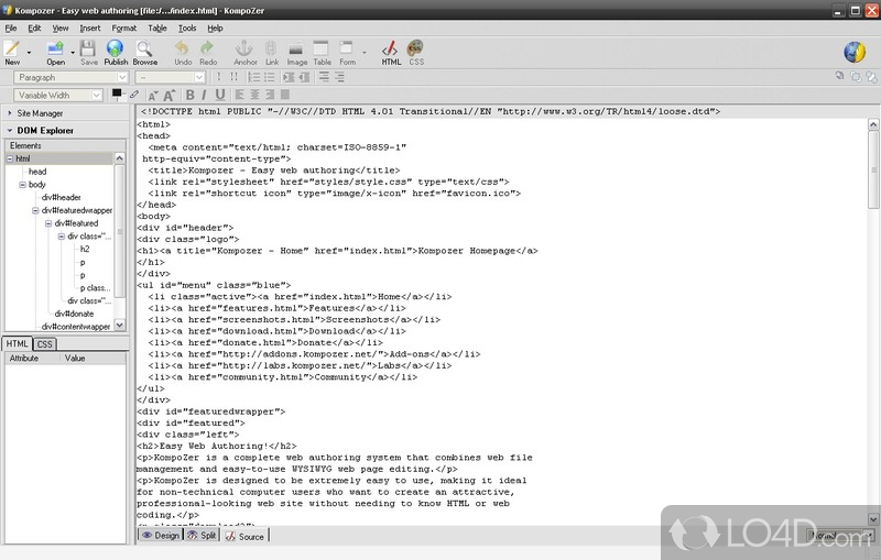 KompoZer - Download
