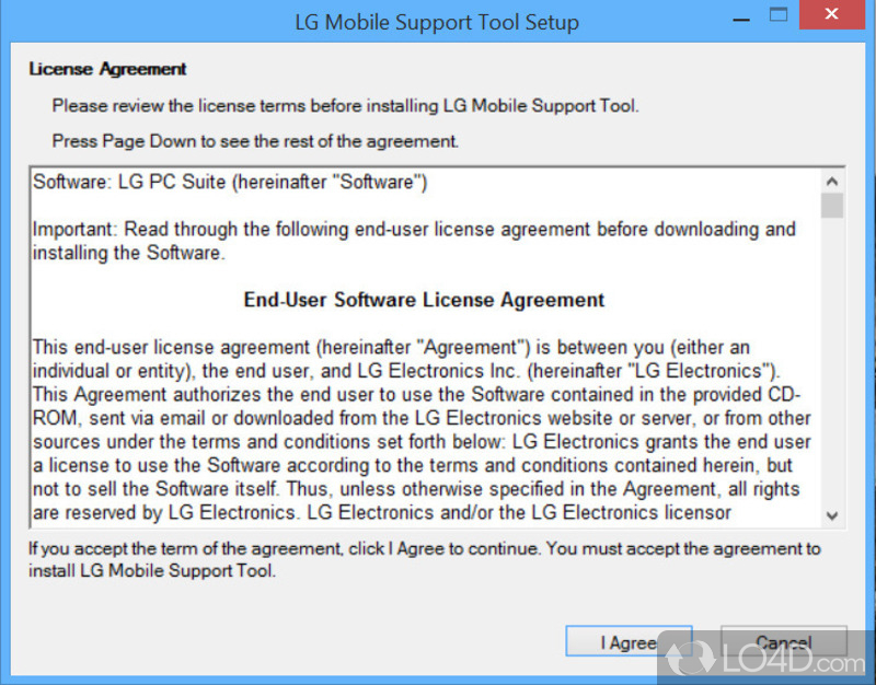 LG Support Tool - 2