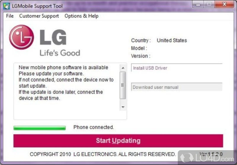 LG Support Tool - 5