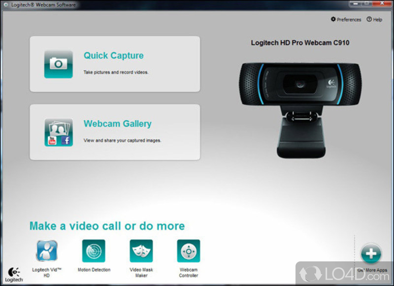 Webcam logitech v-um14 (quickcam messenger).