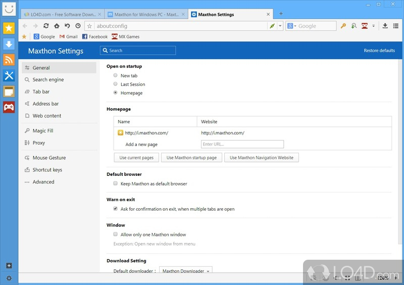 Maxthon Cloud Browser - 6
