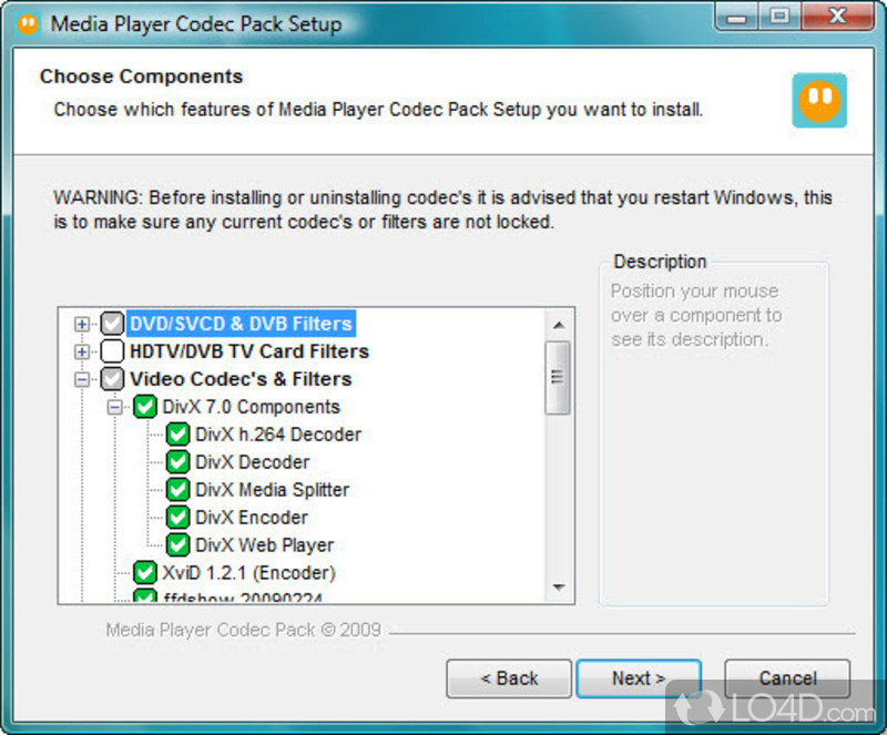 If Your Media Player Is Unable To Play Certain S Then Installing This Codec Pack Could Be Just What You Need View Full Description