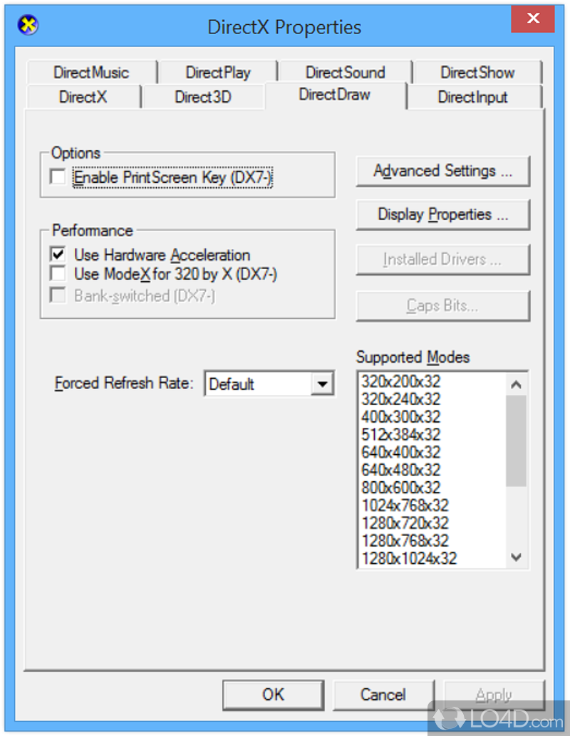 the deprecated components of microsoft directx Deprecated components of microsoft directx for managed code are considered obsolete the directdraw application programming interface (api).
