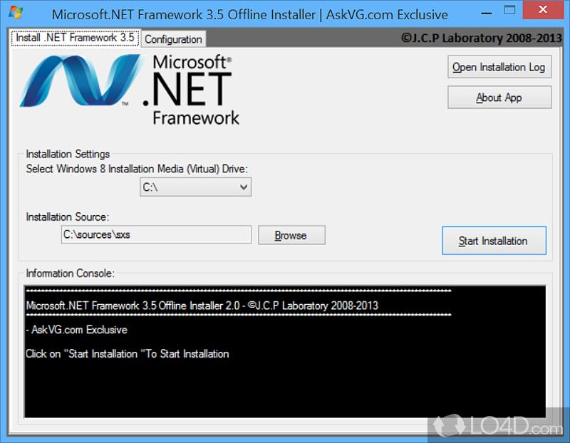 Microsoft.NET Framework 3.5 Offline Installer - Download