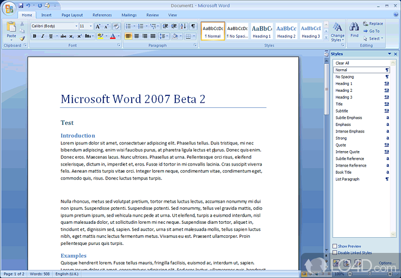 ms word 2007 free download for windows 7 64 bit