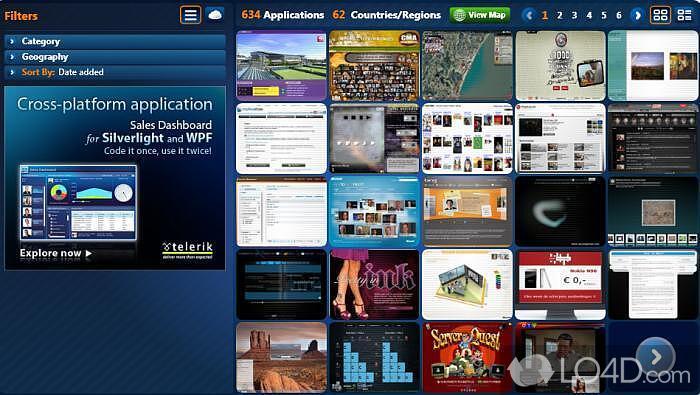 Microsoft Silverlight - Screenshots