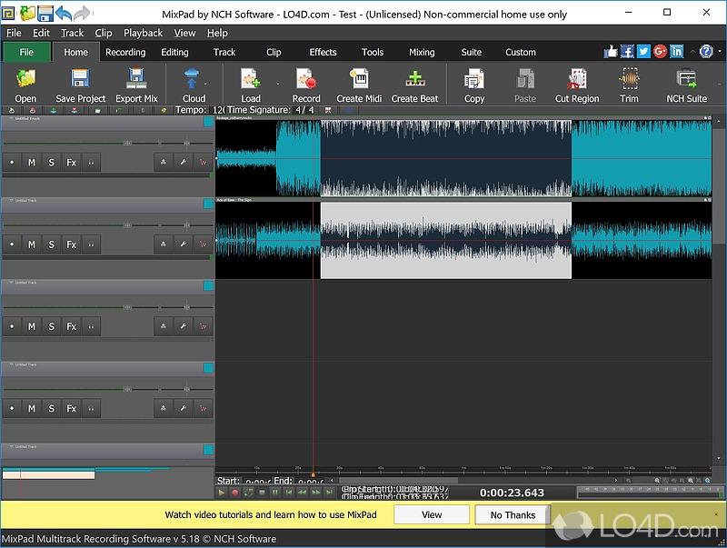 Wavepad audio recording software reviews