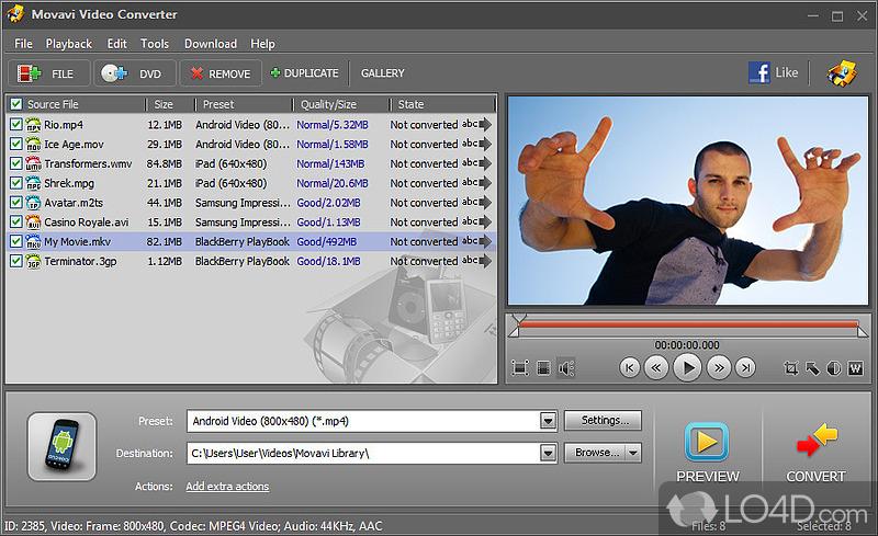 Скачать Movavi Video Converter Мовави Видео Конвертер.