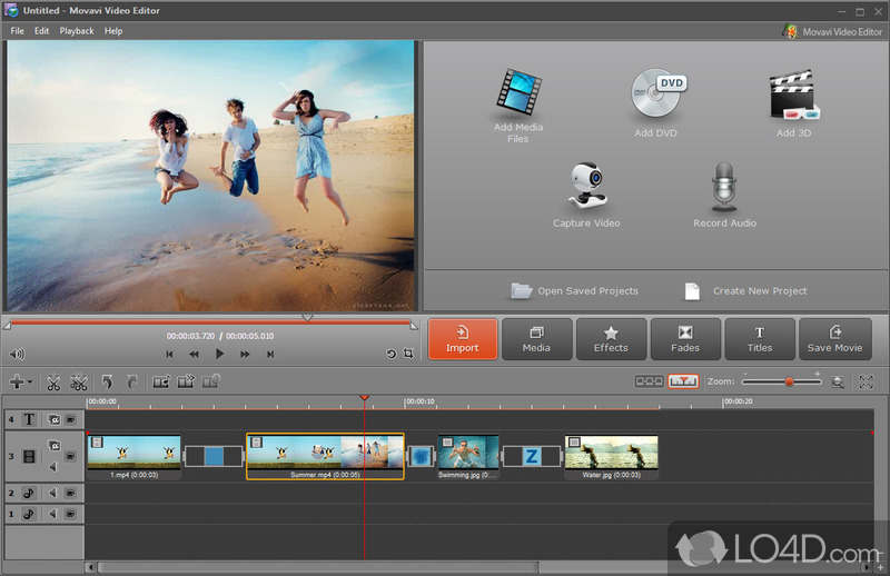 Movavi Video Editor - Screenshot 1 ...