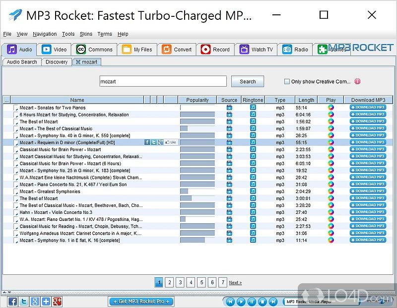 Mp3 rocket screenshots mp3 rocket screenshot 1 voltagebd Choice Image