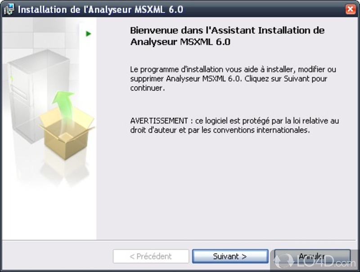 Microsoft xml 4.0 sp3