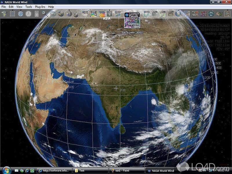 Nasa world wind download nasa world wind screenshot 3 gumiabroncs Image collections