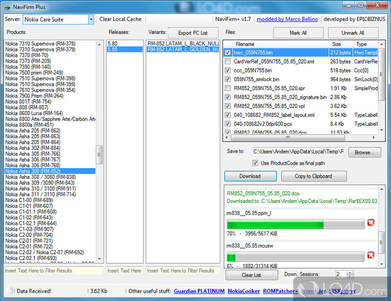 free  navifirm for windows 7
