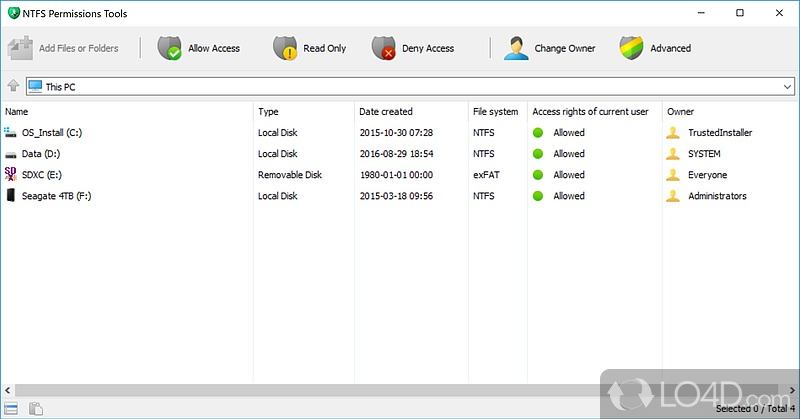 NTFS Permissions Tools - 1