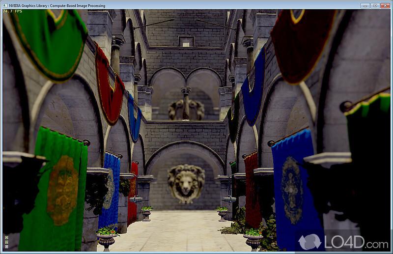 Nvidia direct3d sdk screenshot 5