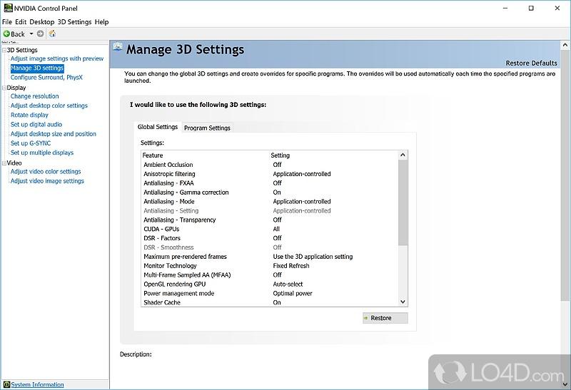Nvidia Corporation скачать бесплатно для Windows 7 - фото 4