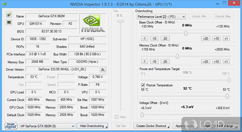 NVIDIA Inspector - Free download and software reviews ...